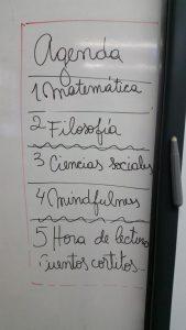 Cronograma del día: 4. Mindfulness!
